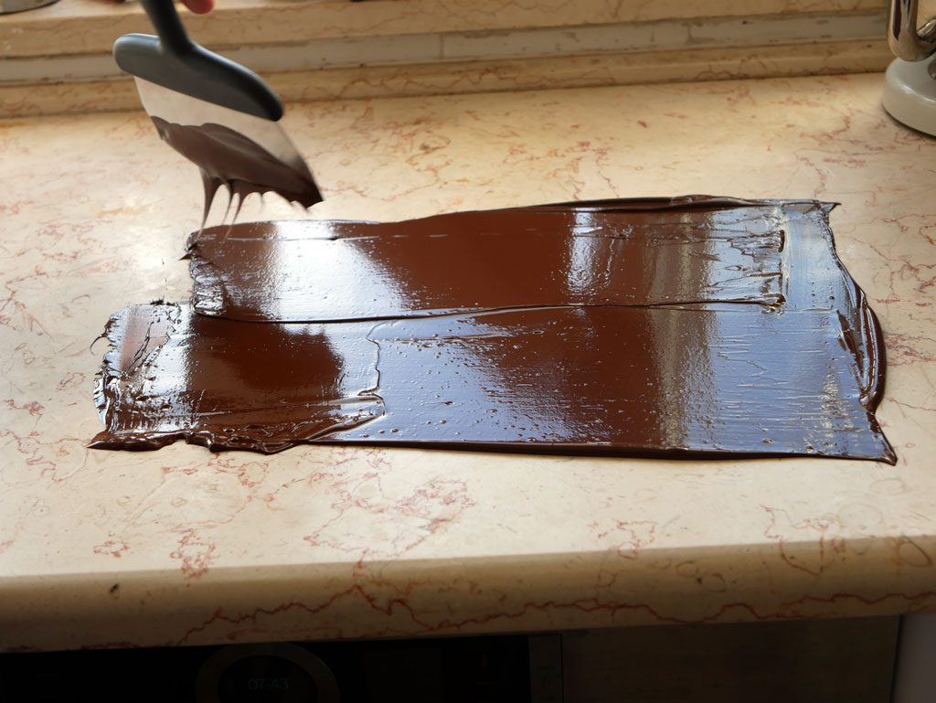 טמפרור שוקולד