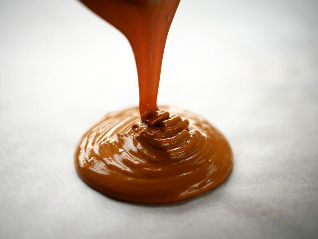 שוקולד לבן מקורמל