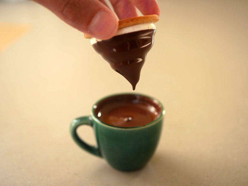 טבילת קרמבו בשוקולד