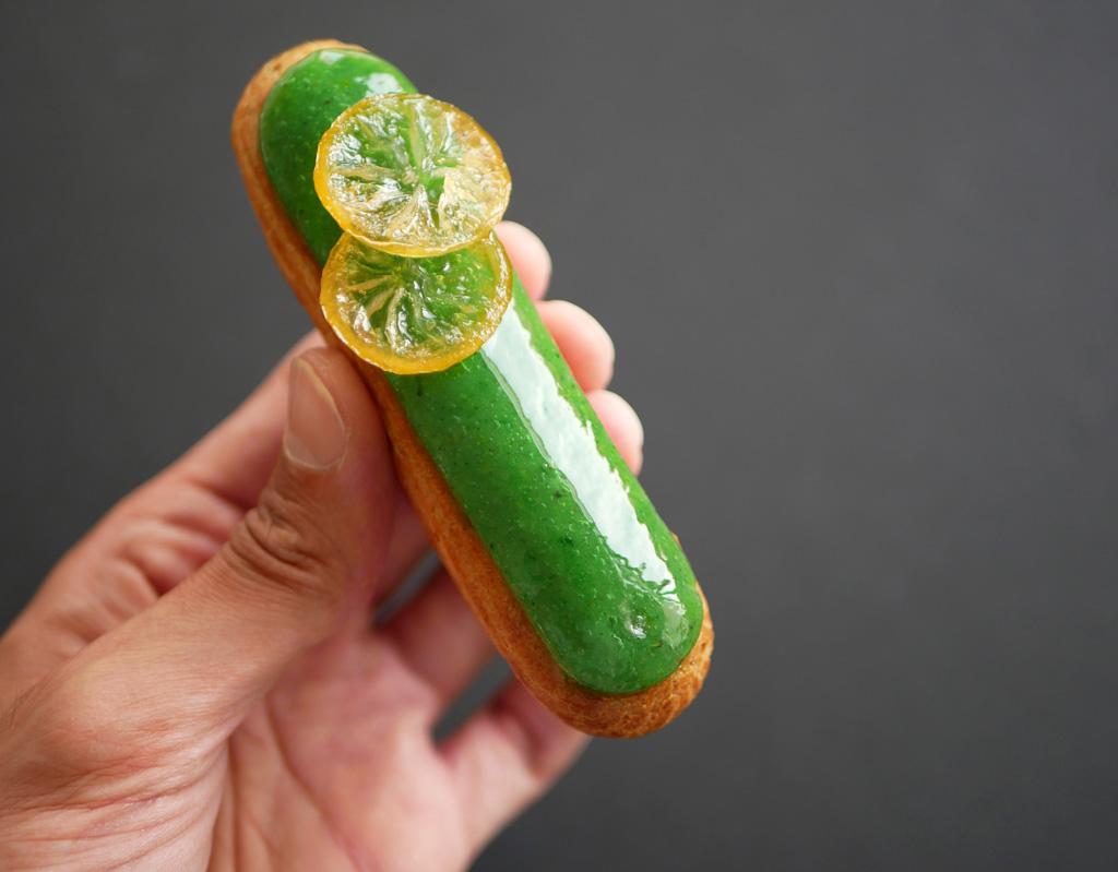 אקלייר פיסטוק לימון