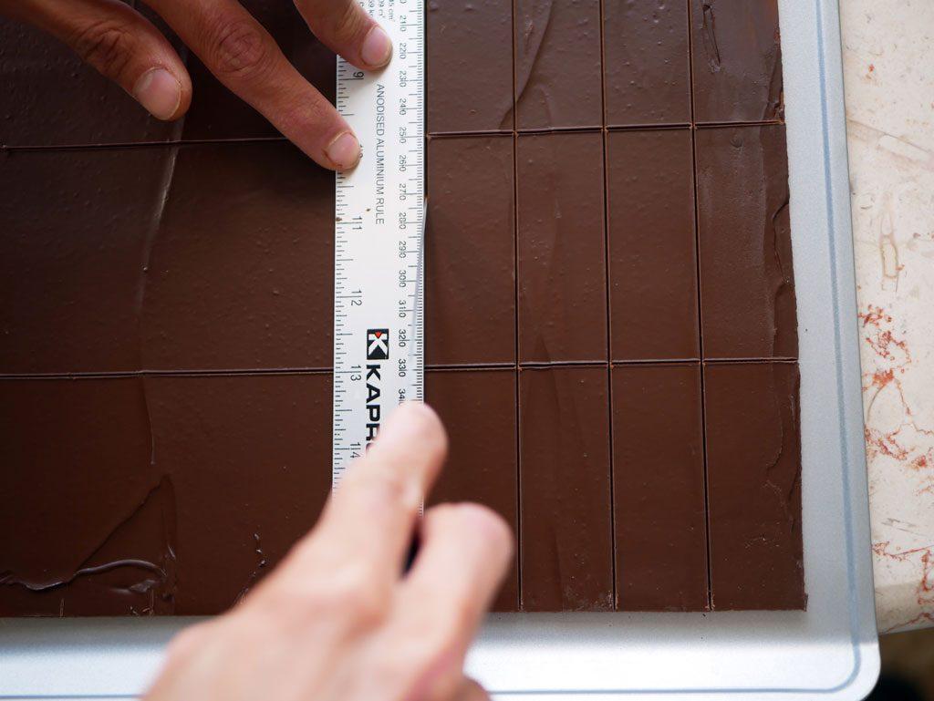 הכנת דיסקיות שוקולד