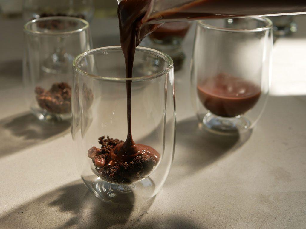 מילוי שוקולד מריר