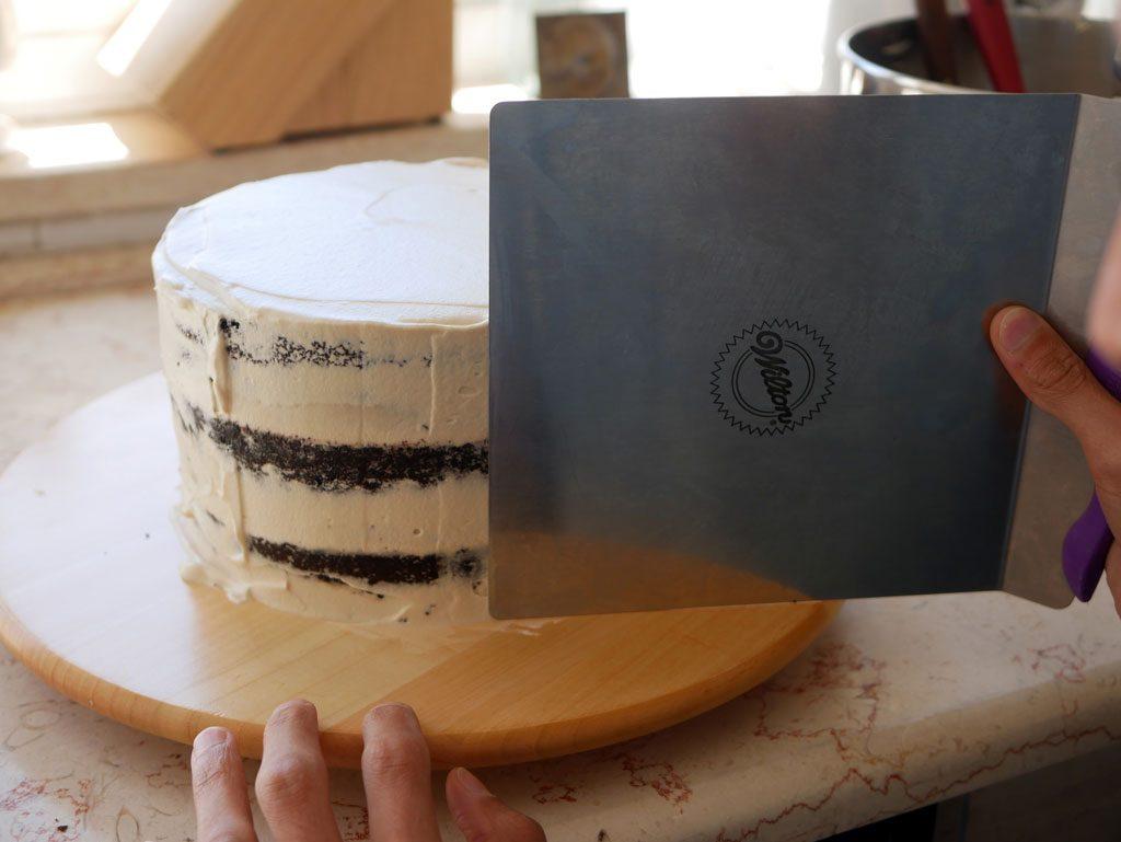 Naked cake effect