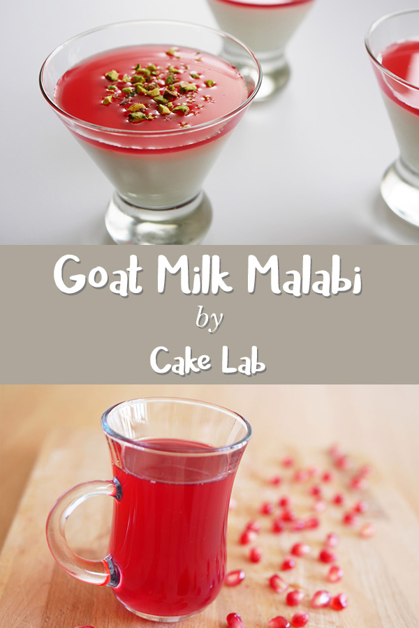 Goat Milk Malabi