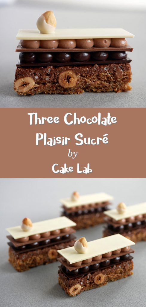 Three Chocolate Plaisir Sucré