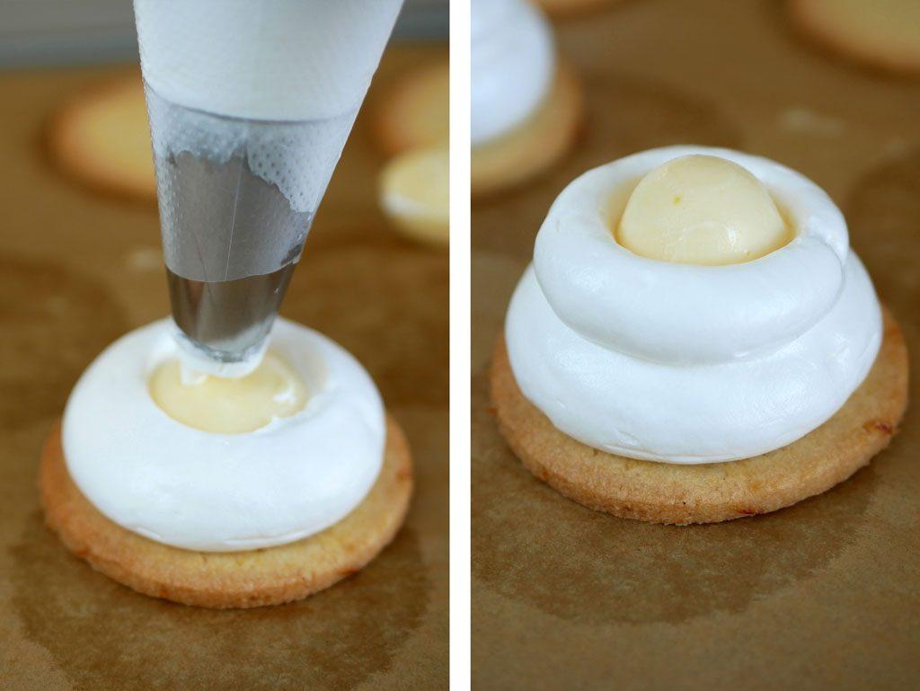 Making Lemon Crembo