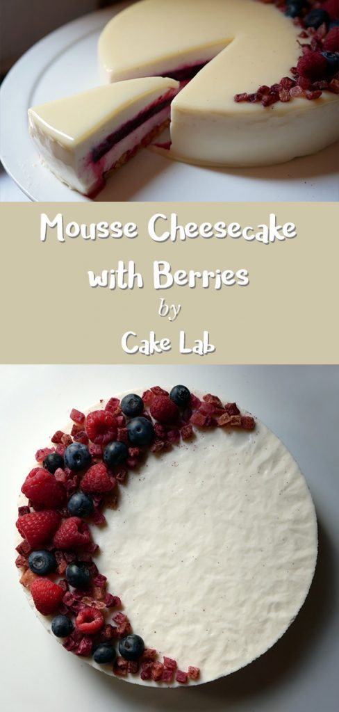 Mousse Cheesecake with Berries