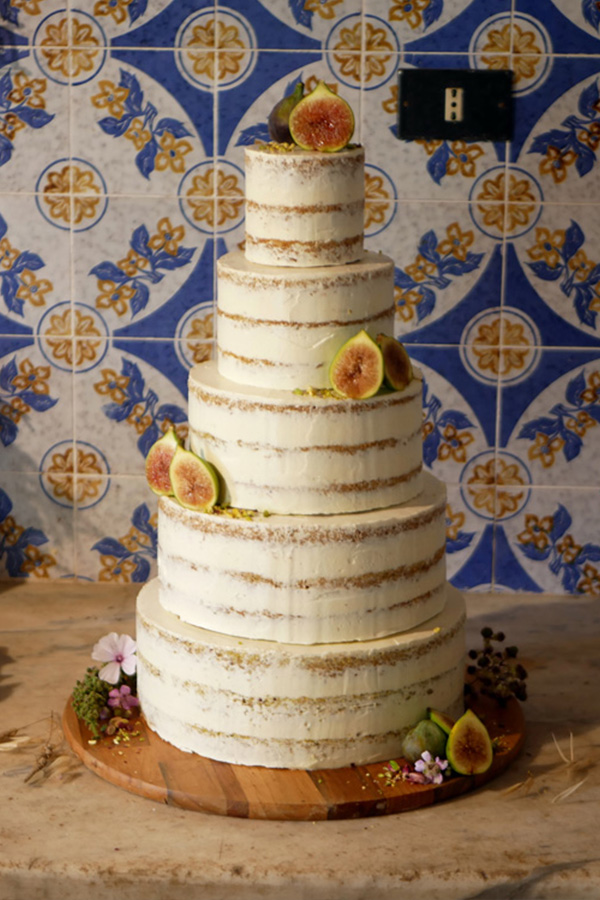 Pistachio Lemon Wedding Cake
