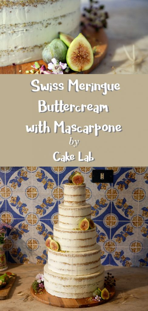 Pistachio Lemon Wedding Cake