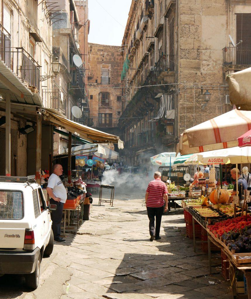 A market in Palermo