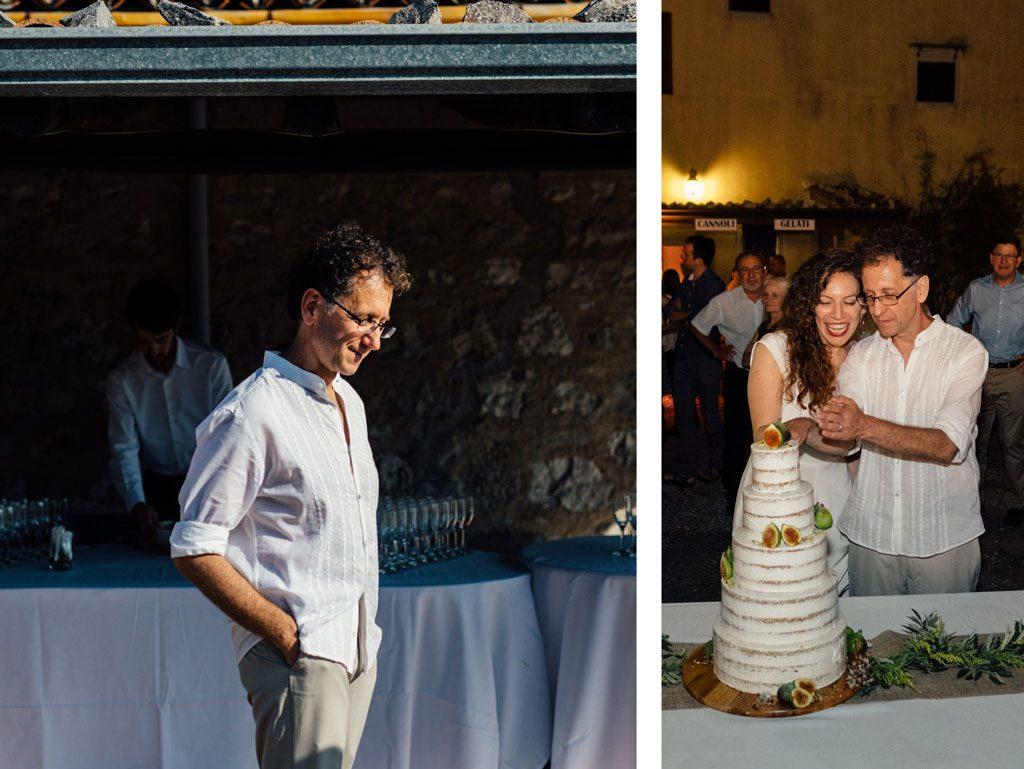 החתן, הכלה והעוגה