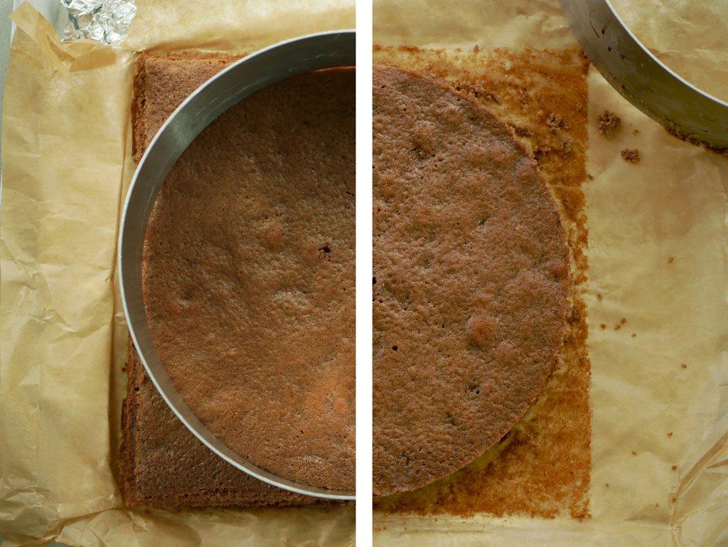 Chocolate pain de Gênes