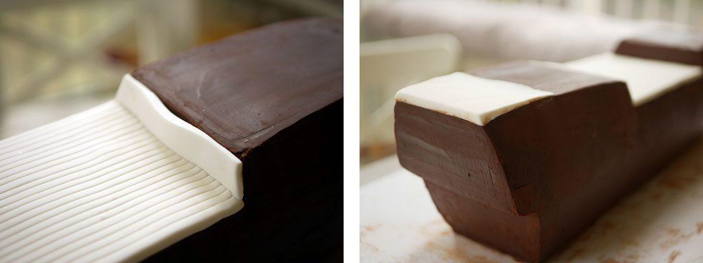עיטוף עוגה בבצק סוכר