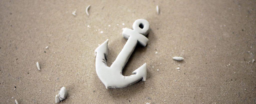 fondant anchor