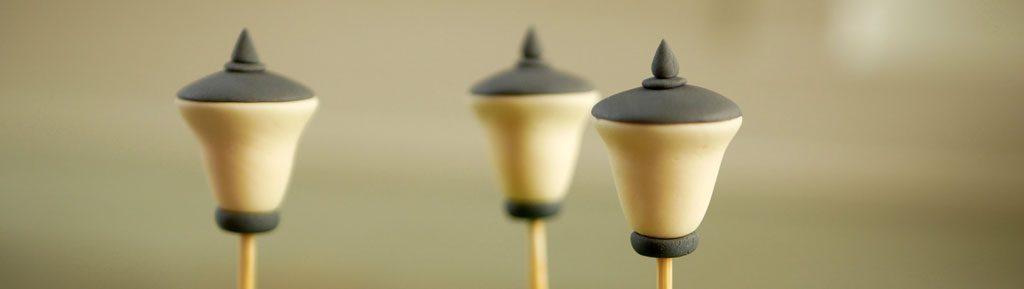 יצירת מנורות מבצק סוכר