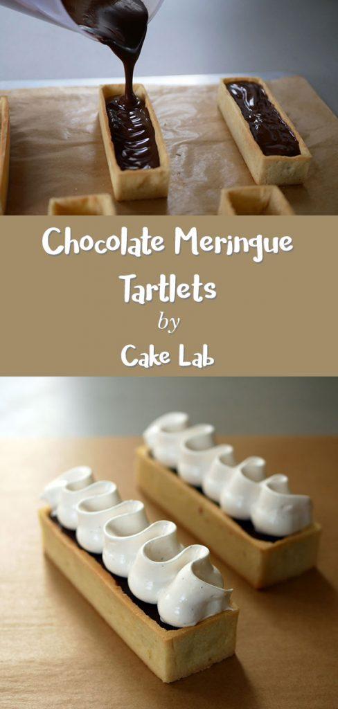 Chocolate Meringue Tartlets