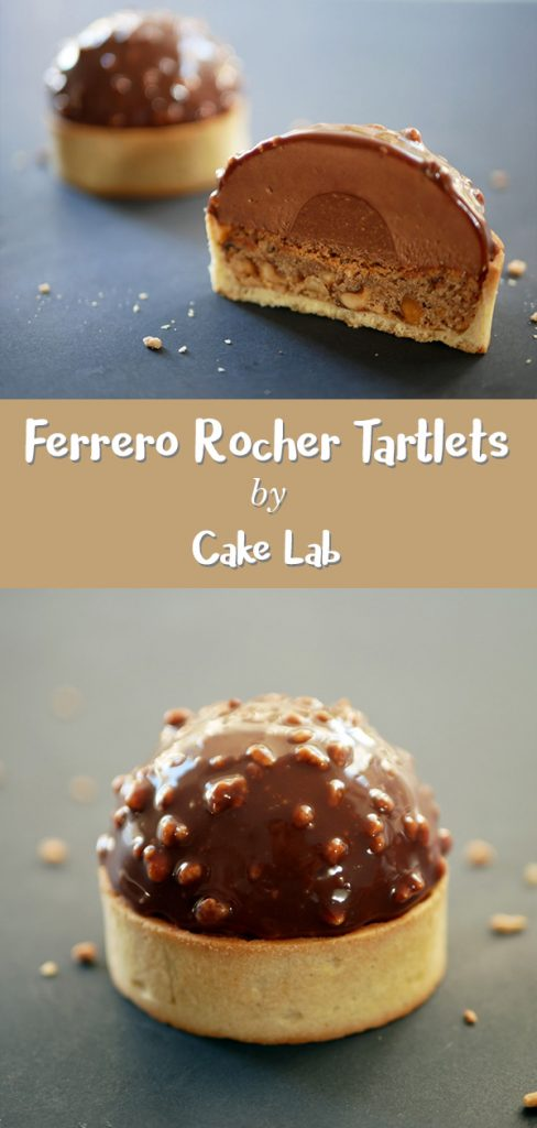 Ferrero rocher tartlets