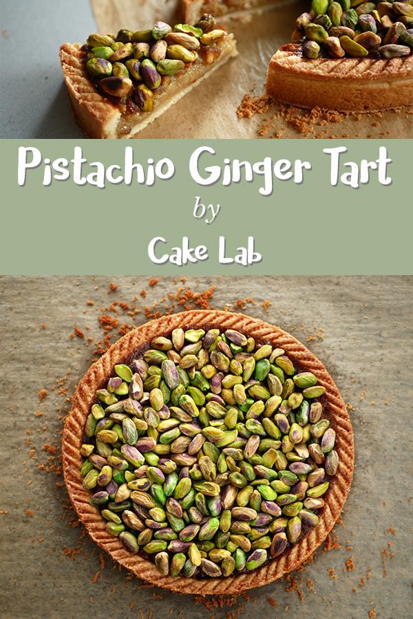 Pistachio Ginger Tart