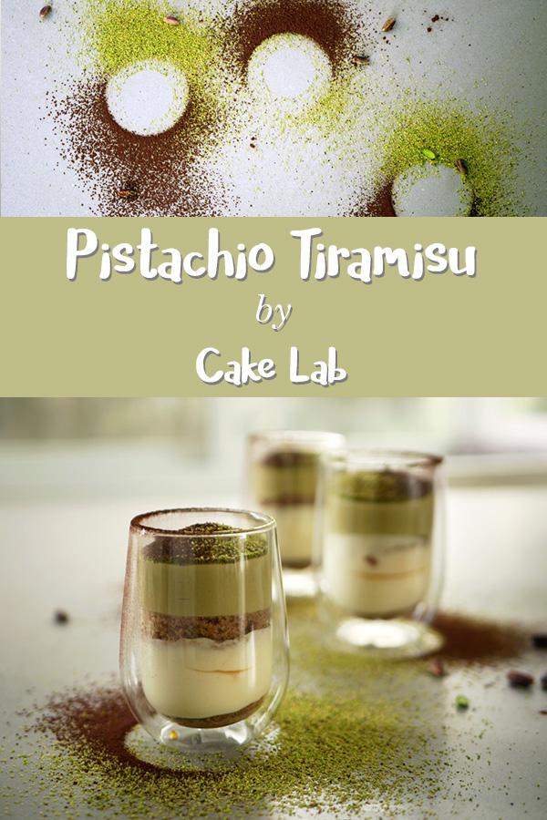 Pistachio Tiramisu