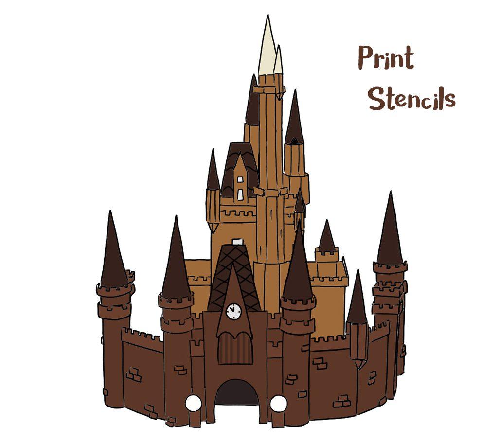 Disney Gingerbread Castle
