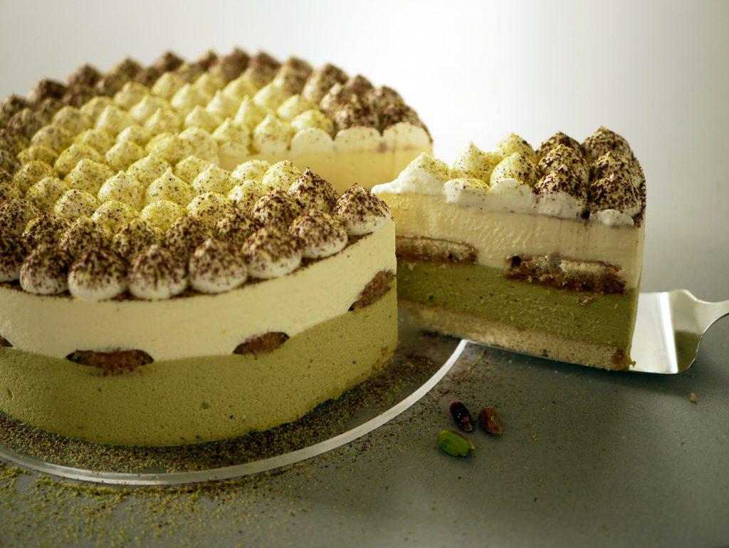 Pistachio Tiramisu Cake