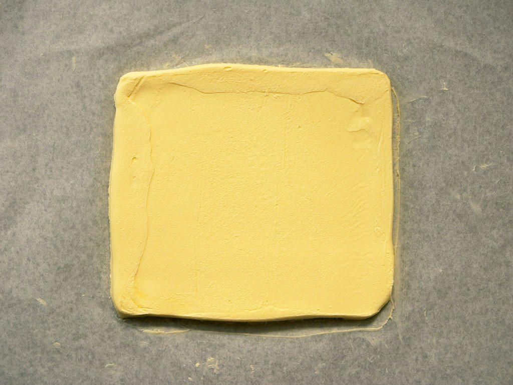 חמאה לקיפול