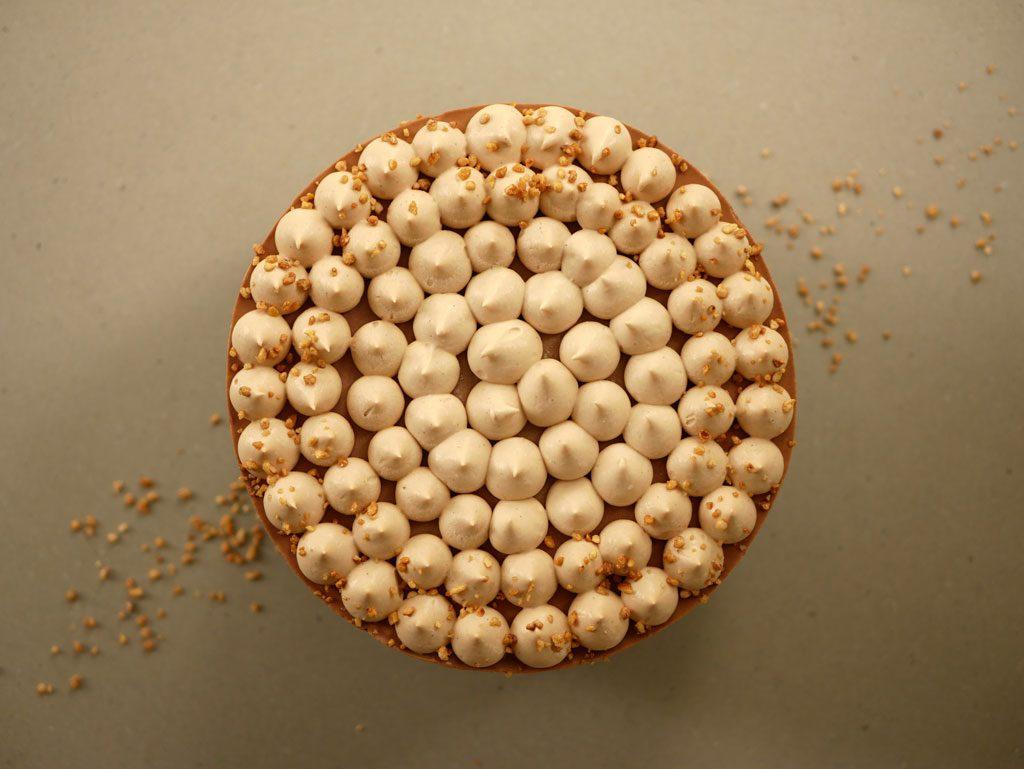 עוגת מוס שוקולד ג'נדויה