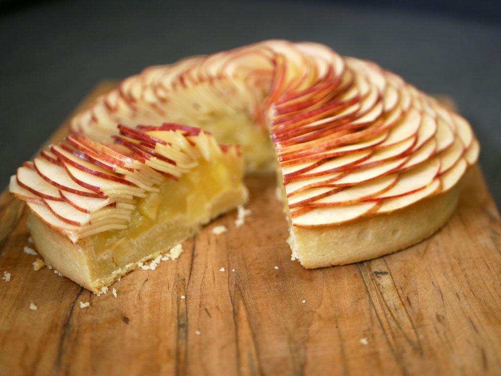טארט תפוחים