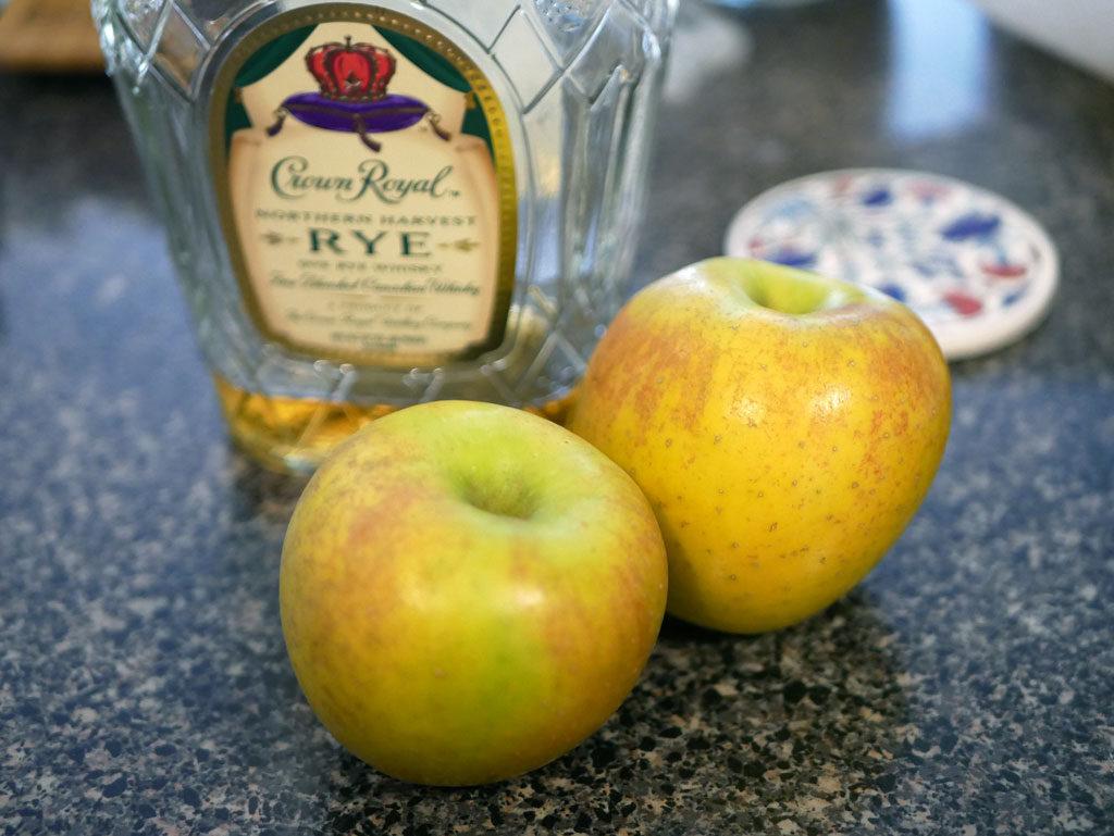 וויסקי ותפוחים
