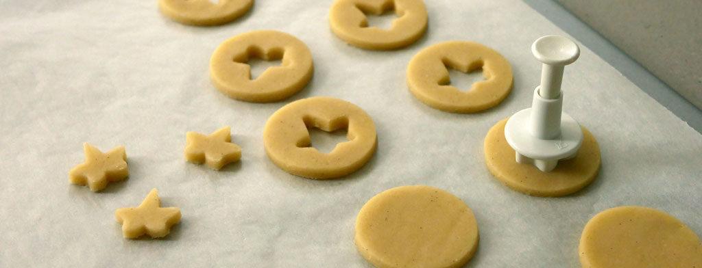 עוגיות בצק פריך