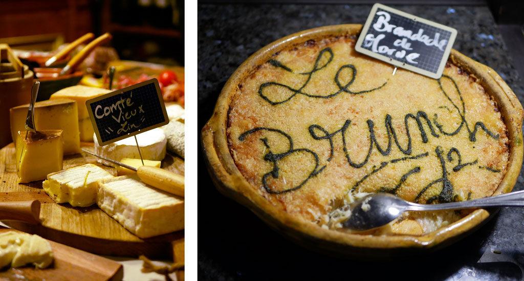 גבינת Comte בבראנץ'